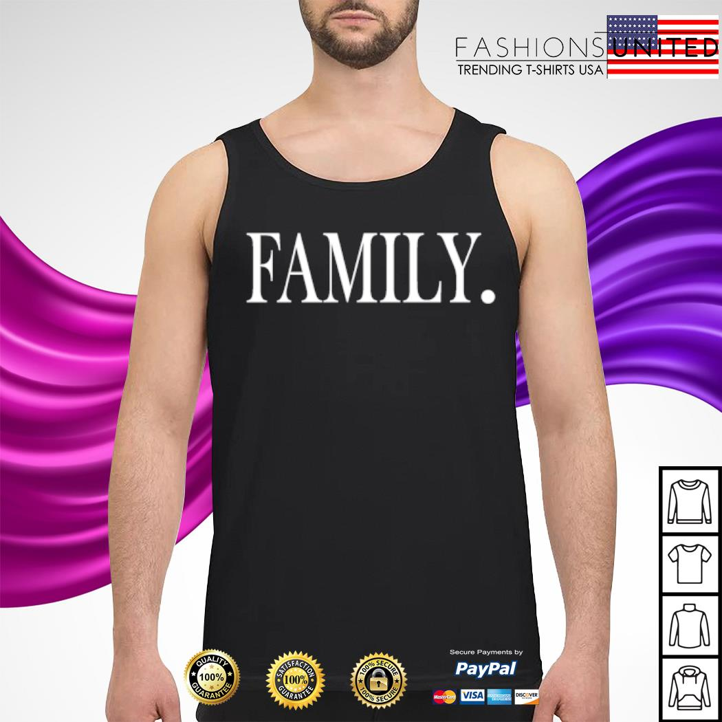 Official Family s tank-top