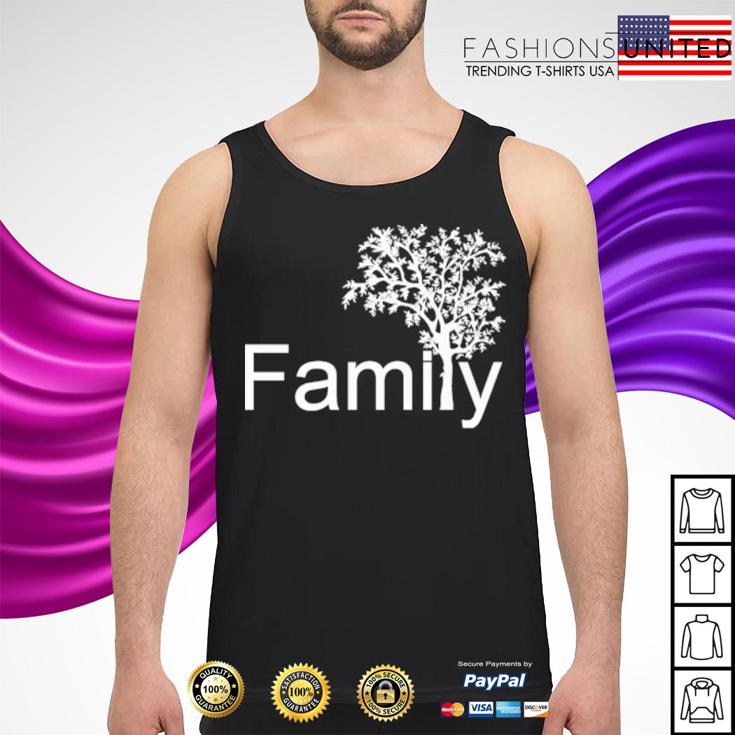 Official Family tree s tank-top