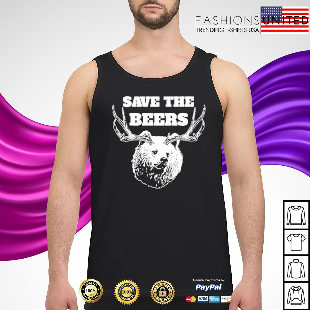 Save the beers hunter s tank-top