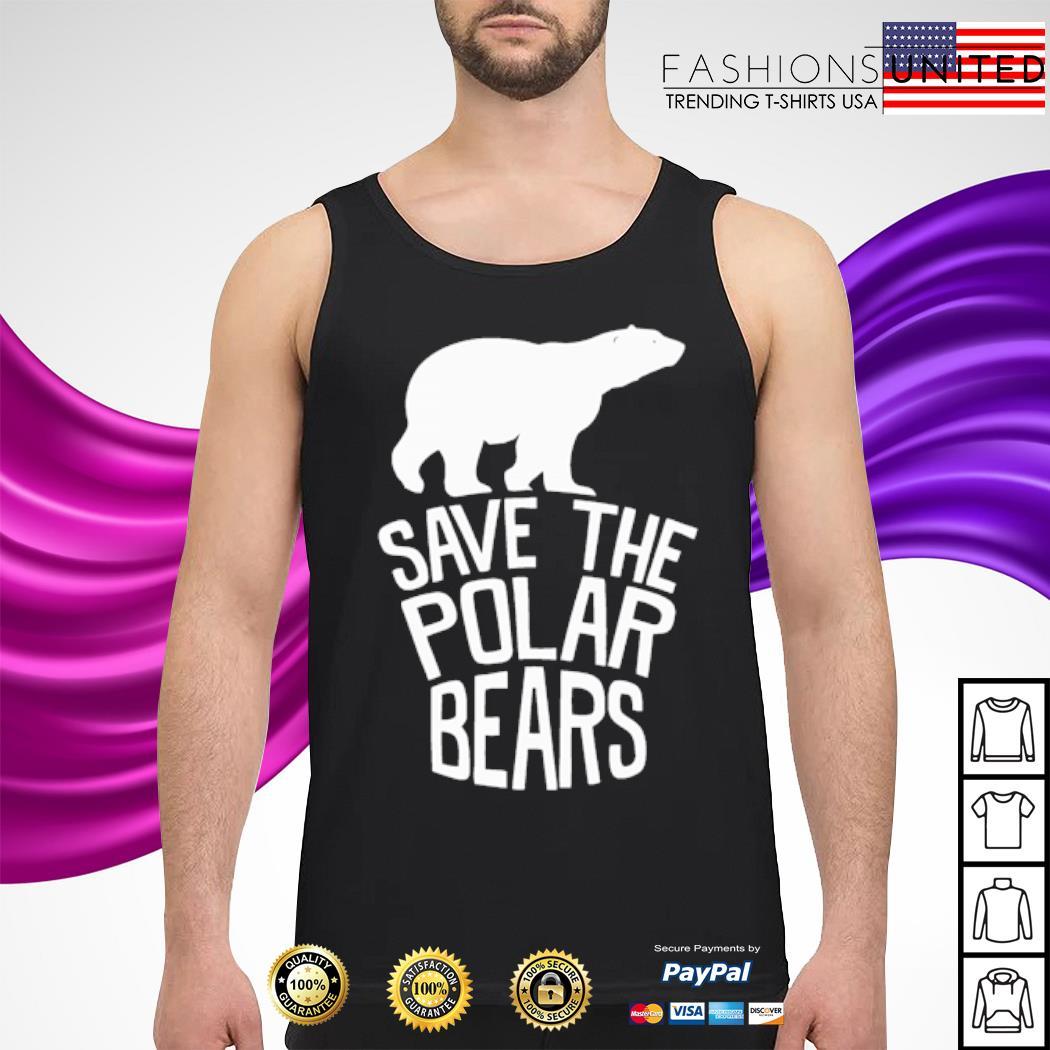 Save the polar bears s tank-top