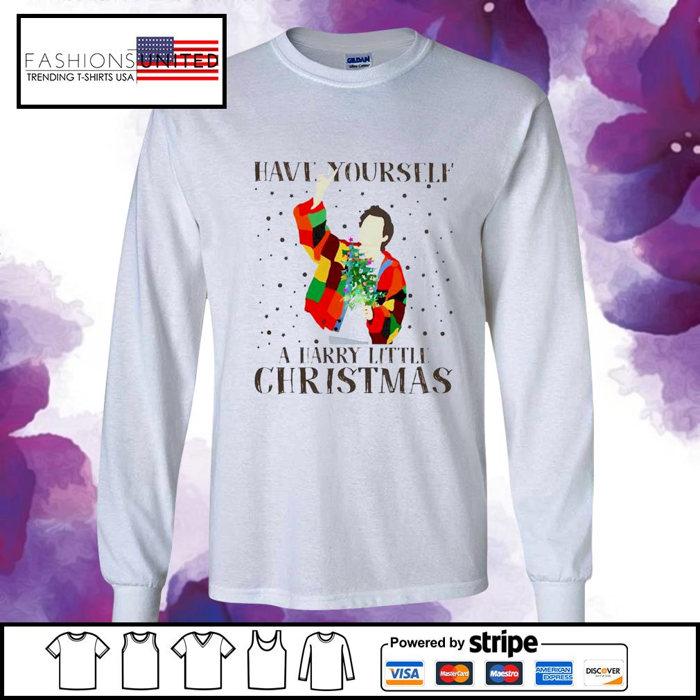 Louis Tomlinson Have Yourself A Harry Little Christmas Shirt longsleeve-tee