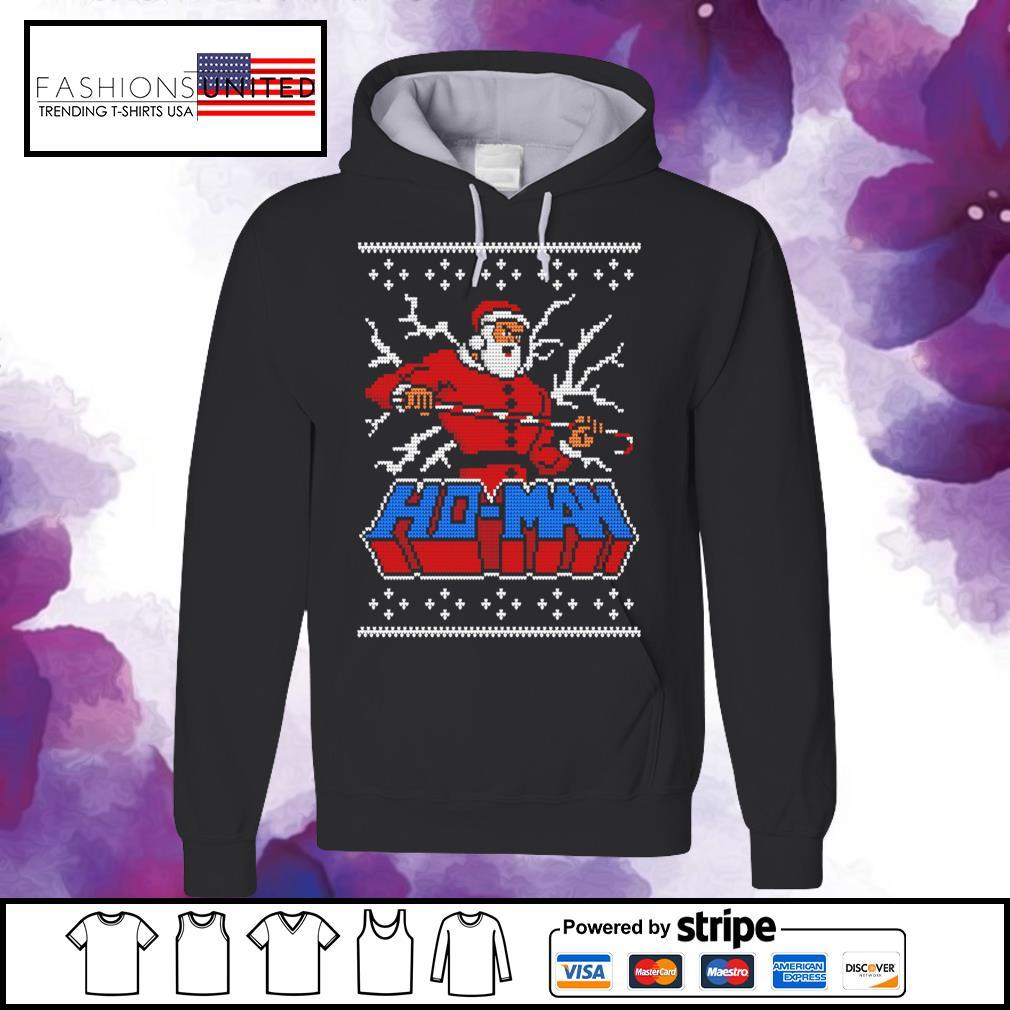 Ugly Ho man Christmas s hoodie