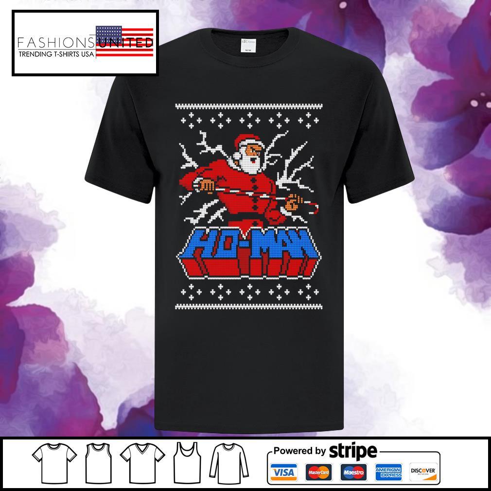 Ugly Ho man Christmas shirt